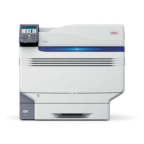 A3 OKI PRO9542dn 5-Farbdrucker inkl. Weiß