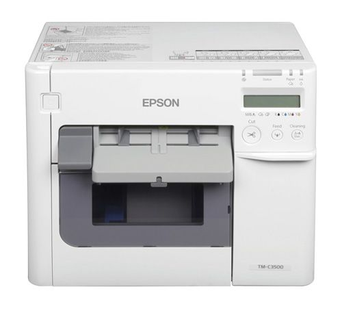 C3500 Epson ColorWorks Farb-Etikettendrucker
