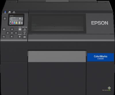 EPSON ColorWorks C6500Ae(mk) Cutter 212mm/USB/LAN